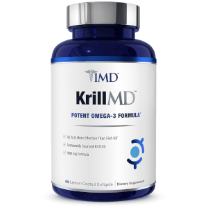 Best omega 3 krill oil supplement with pure astaxanthin for Krill oil versus fish oil